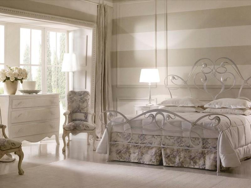 Mobilier dormitor clasic argintiu Gisel