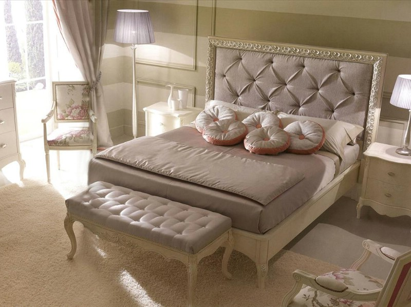 Mobilier dormitor clasic de lux Rudy