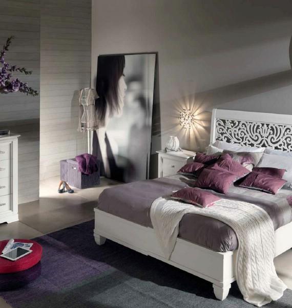 Mobilier dormitor clasic din lemn Harmony