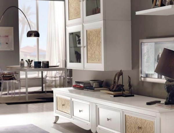 compozitie mobilier living 3 newdeco | Mobilier living clasic Timisoara.
