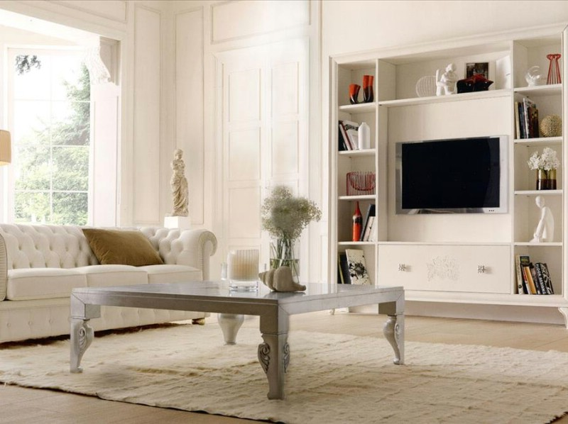 Mobilier living clasic de lux Alfred