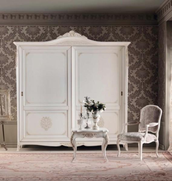 Sifonier dormitor clasic in 2 usi din lemn Gran Guardia