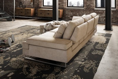 Coltar modern tapitat Italy Le Comfort Luis